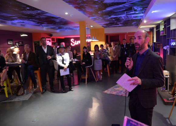 30. Stéphane Rigaud, directeur de l'Hôtel Kyriad
