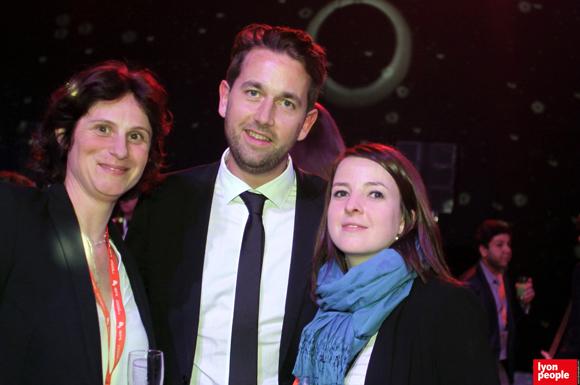 31.Sandra Tetard (Centre de Coaching et de Bien Etre), Noël Thiefine (FNTV) et Carole Mathieu (MEDEF Lyon-Rhône)