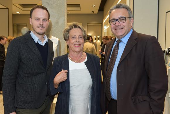3. Axel Dufour, Carole Dufour (Idées en Tête) et Denis Broliquier, maire du 2ème