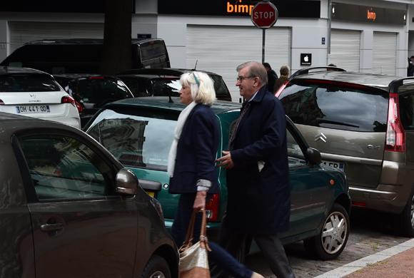 3. Michel Brochier et son épouse
