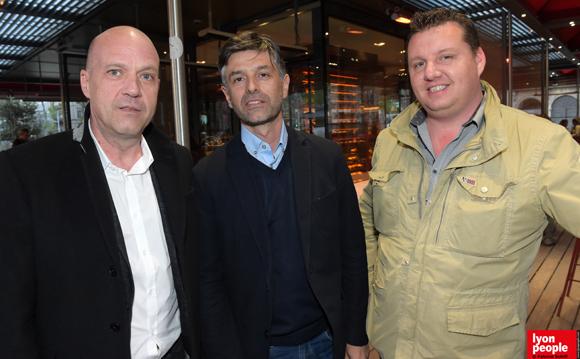 33. Pascal Carré (Floriot Immobilier), Lionel Thabaret (107 Architecture) et Marc Larruat (Proarchidesign)