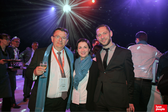 34.Paul Rolland (Métallurgie rhodanienne), Cecile Da Silva (MEDEF Lyon-Rhône) et Alexandre Villard (Bistrot Gustave)