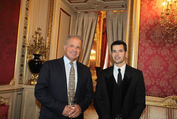 3. Alain Duvert et fils Guillaume Duvert (Le Passage)
