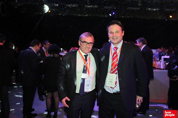 36.Christophe Bouyer (ISS propreté) et Gilles Sabart (Arxom)