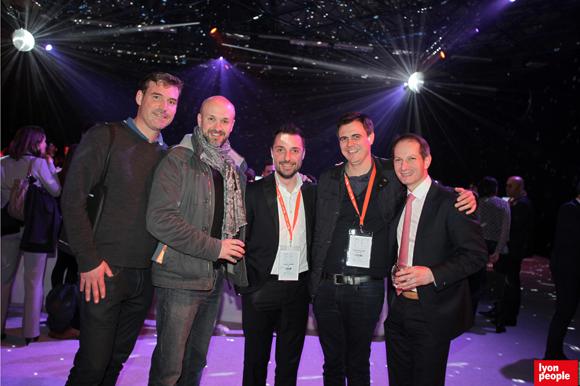 37.Thibault Leroy (ALF Illuminations), Stéphane Crapiz, Frédéric Soriano (BEIC), Régis Provignon (Mute) et Jérôme Consti (FBI)