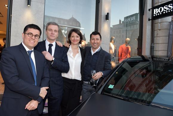 38. Frédéric Blanc (Mercedes-Benz Lyon), Guillaume Forest (Jaeger-LeCoultre), Christelle Jardin (Kuoni Voyages) et Laurent Bernardeau (Mercedes-Benz Lyon)