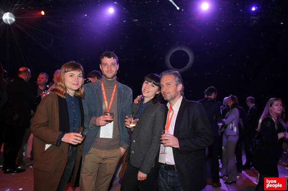 40.Claire Vasile (Arty Farty), Tanguy Bard de Coutance (Biodegr'Ad), Fanny Crapanzano (Arty Farty) et Cédric Denoyel (Capsa Container)