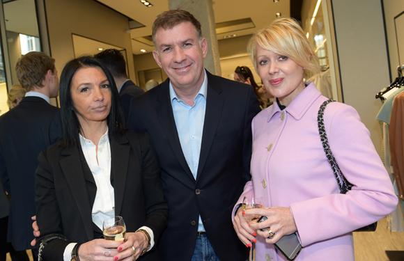 4. Karine Fontaine (Floriot immobilier prestige), Nicolas Winckler (Lyon People) et Catherine Condamin (Baccarat)