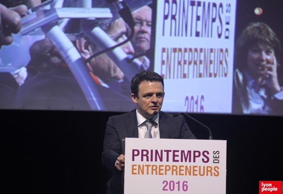 54. Discours de clôture de Laurent Fiard, Président du MEDEF Lyon Rhône