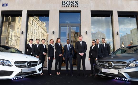6. Matthieu Tambo et sa Team (Hugo Boss)