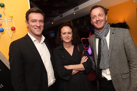 6. Michel Havard, Odile Fau et Damien Combet, maire de Chaponost