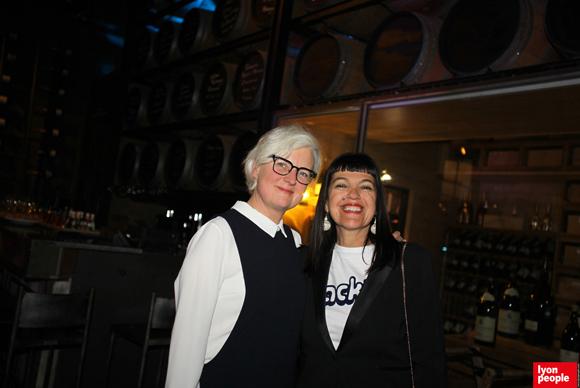 7. Isabelle Gleize, directrice du Village des Créateurs et Laurence Renaudin