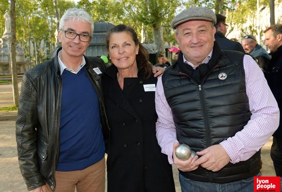 7. Patrick Arnaud (Guy Hoquet), Chantal Witschger et Stéphane Sforna (Iminvest)