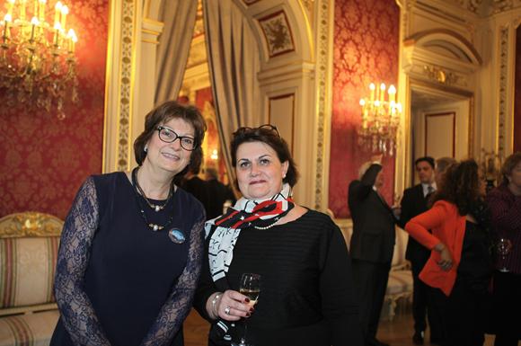 8. Claire Rigaud-Bully (Fondation Neurodis) et Isabelle Boivin (Ricard)