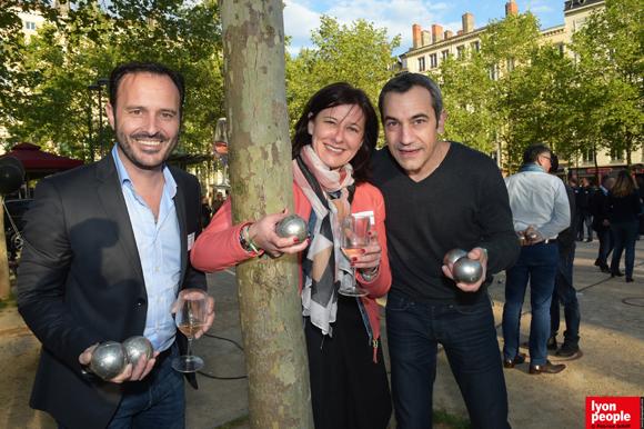 8. Franck Guibal, Christelle Vicar (La centrale de financement) et Franck Ferrante (Franck Ferrante)