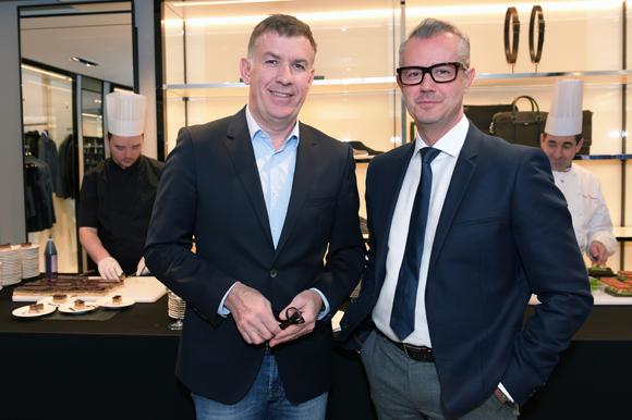 8. Nicolas Winckler (Lyon People) et Frédéric Guallar (Hugo Boss)