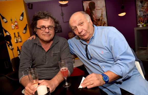 8. Le pianiste Mario Stantchev et Jacques Seigneret, directeur du festival de Jazz à Fareins