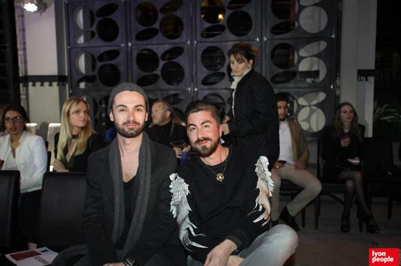9. Nicolas Roussellet, directeur Upper Shoes et le styliste Franck Meunier (Rose Carbone)