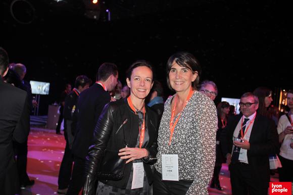 9.La journaliste Sophie Delahaye Guivarc'h et Cathy Mathieu (Stimulus)