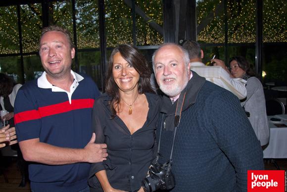 9. Benoît Toussaint (Chez Paul'O), Florence Guyot (Champagne Marguerite) et Pascal Vernay
