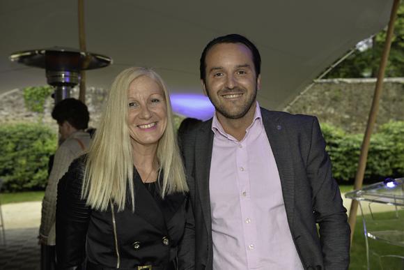 11. Isabelle Leriche (Le Progrès) et Yves Serriere (Nissan groupe Delorme)