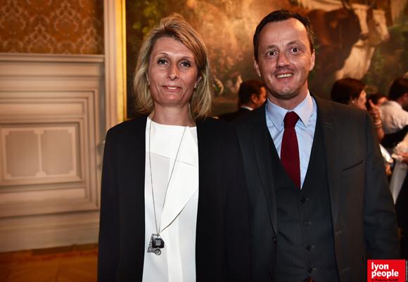 13. Caroline Combet (Mercure Charbonnière) et son frère Damien Combet, maire de Chaponost