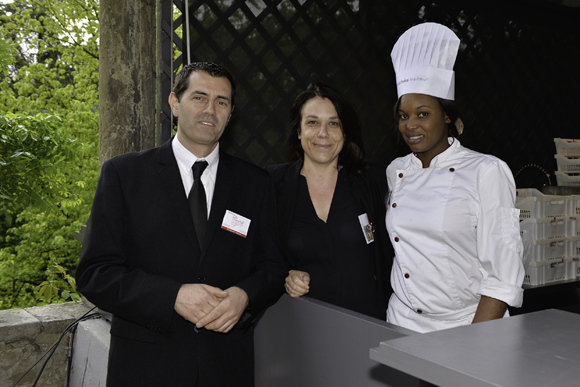 13. Patrice Lombardi, Charlotte Brackers et Ndiaye Khadr (Prestal)