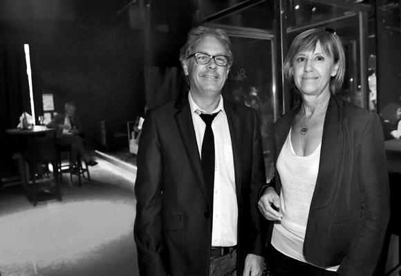 13. Bernard Buffard (La Sphère des possibles) et Catherine Beroud (Tout Lyon Affiches)