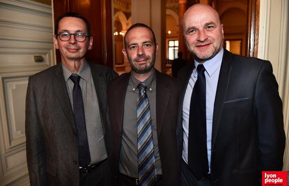 14. Marc Belzunce, Pascal Zaninetti et Alain Fraschini (Mercure Charbonnière)