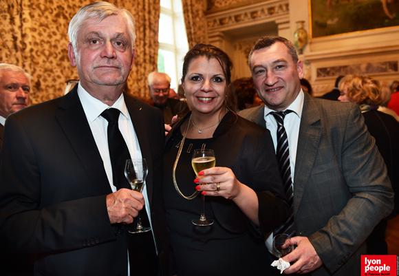 15. Pascal  Dijoux, Carine Montredon (Orange) et son époux Laurent (ENI)