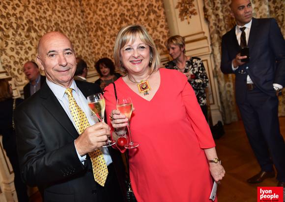 16. Max Marcadet (Max Marcadet Conseil) et Thérèse Desorgues (Panzani)