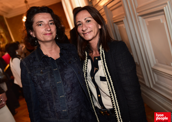 19. Martine Publie, conseiller départemental du Tourisme et Olivia Hamelin (Département du Rhône)