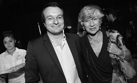21. Jacques Mercier (Bluely) et Florence Verney-Carron, vice-présidente du Conseil régional