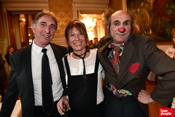 22. Bernard Desmaris (BNP), son épouse Josy et Scott Fisher (Docteur Clown)