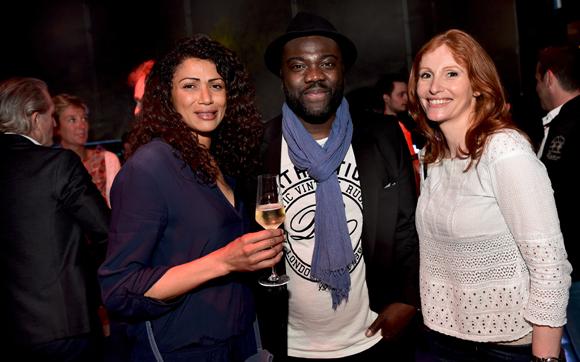 22. Sandra Coupaman, Guillaume (Espace Group) et Audrey Saatdjian