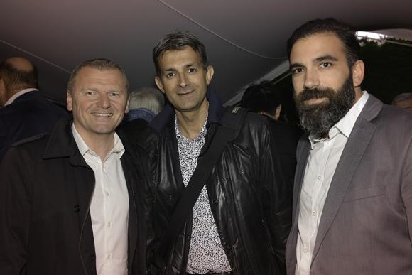 23. Philippe Dudu (Delorme), Damien Michon (LS Régie) et Lionel Pereira (Delorme)