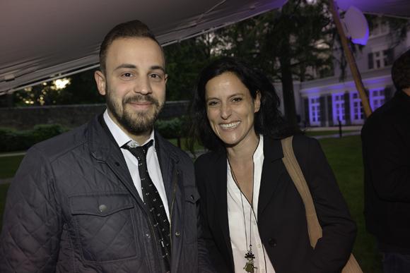 24. Guillaume Berthelier (Delorme) et sa cliente Mme Attebi