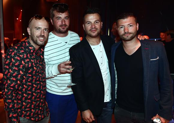 27. Damien Guilloux (Lixir), Arnaud Depp (Renaissance Spirit), Damien Huillard (Orangina Schweppes) et Matthieu Junchat