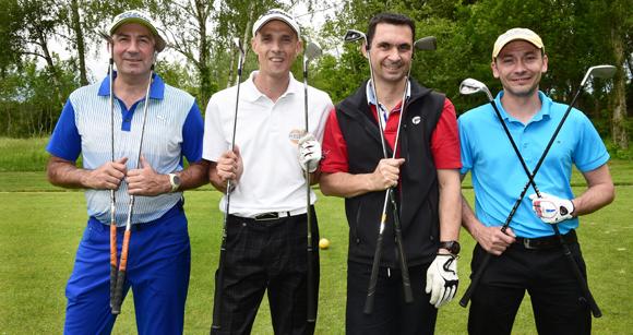 27. Jérôme Burtin, Steven Coissard, Jean-Michel Foucher et Laurent Ducet
