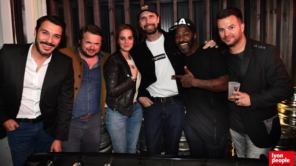 28. Edouard, Cédric, Clara Copin, Pedro Winter, DJ Naughty.J et Damien Huillard (Schweppes)