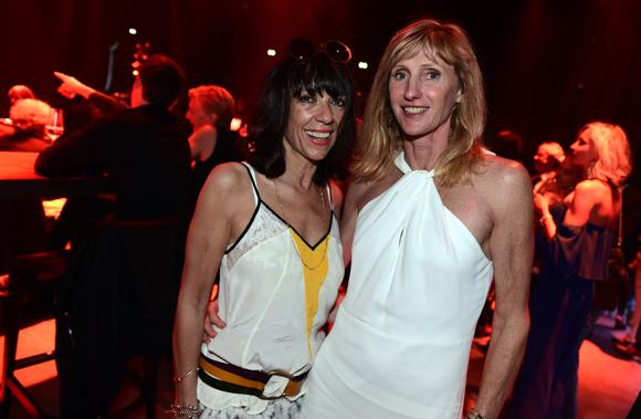 28. Colette Bavasso (SET) et Christine Pigeroulet, coach sportif