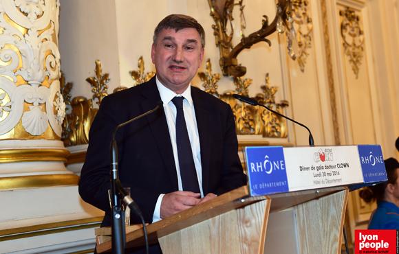 29. Christophe Guilloteau, président du Département du Rhône