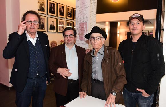 3. Philippe Vorburger (Comédie Odéon), Gilles Decina (Radio Canut), Mario et Laurent Argelier (Pure People)
