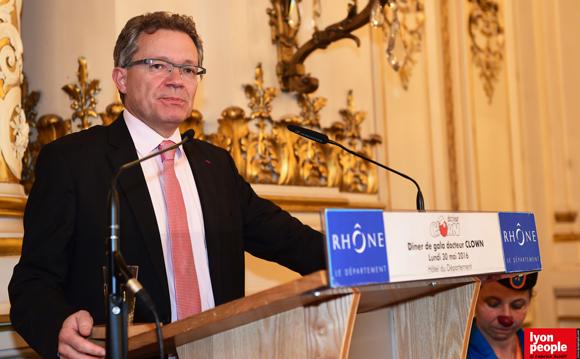 32. Olivier Claris, vice-président de Docteur Clown