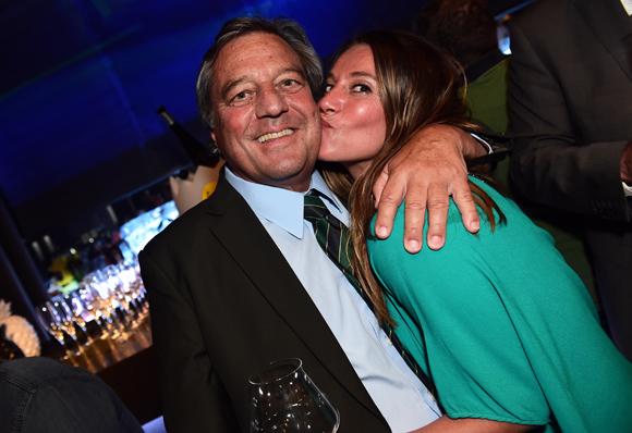 32. François Turcas, président de la CGPME Rhône-Alpes et sa fille Karine (KT Prod)