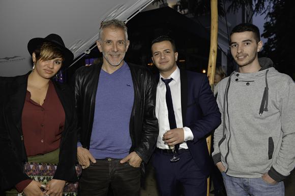37. Christian Bachet et sa fille Marine (Bachet), François Belhout (Delorme) et Damien Flandy