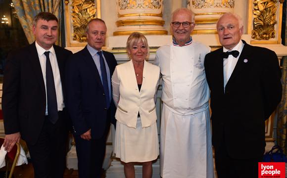 51. Christophe Guilloteau, Bernard Lacombe, Mireille Imbaud, Jean-Paul Pignol et Jacques Gouttebarge