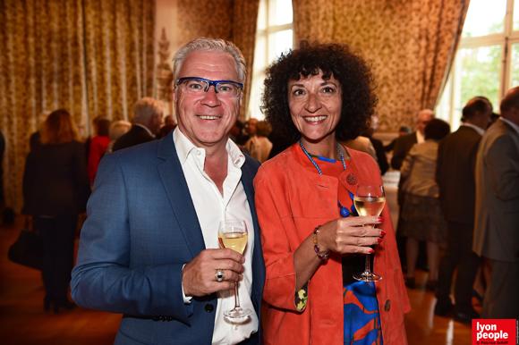 6. Jean-Paul Camacho (Pub autrement) et son épouse Murielle (Vandevelde Avocats)