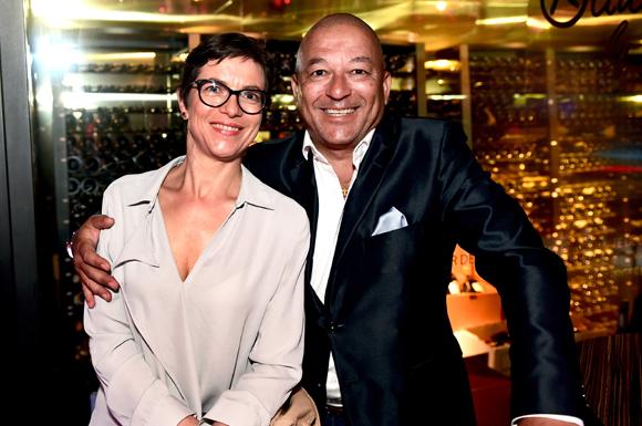 7. Tony Goupil (Vranken Pommery) et son épouse Anne (DB associés)