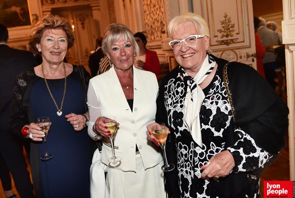 9. Rolande Miraillet, Mireille Imbaud et Michèle Boiron